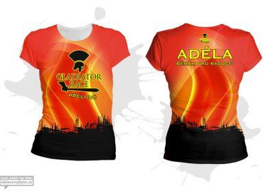 Dámské funkční tričko s krátkým rukávem Gladiator race