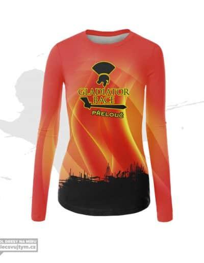 Dámské funkční tričko s dlouhým rukávem Gladiator race