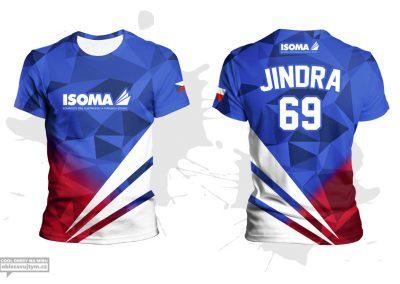 Firemní týmové tričko na běžecké závody