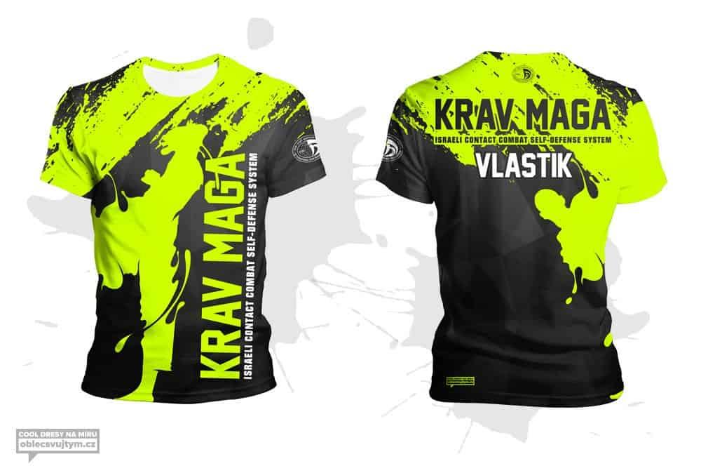 IKMF krav maga funkční týmové tričko