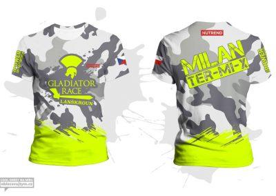 Závodnické tričko Gladiator race