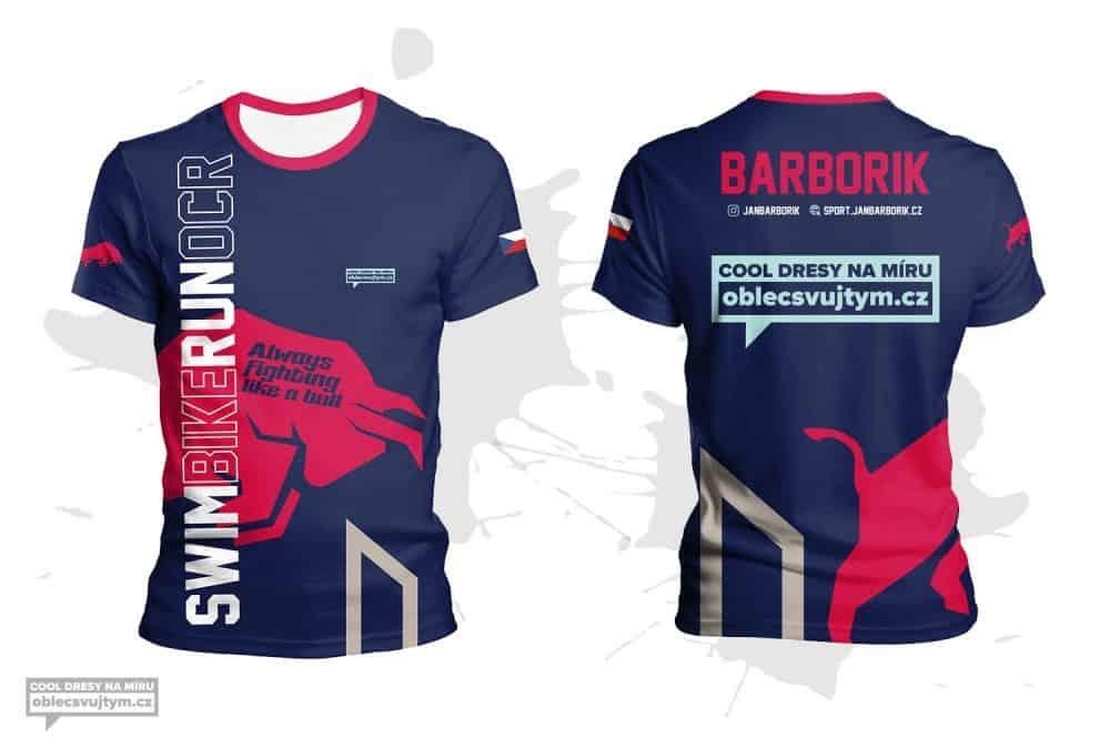 Funkční tričko pánské na běžecké závody