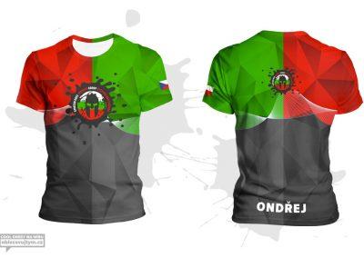 Týmové tričko pro Spartan race training group