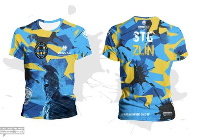 Funkční týmové tričko na OCR závody pro Spartan race training group